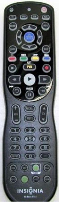 INSIGINA 098GRABDNNEBYU - INSIGNIA NS-RC02U-10A Remote