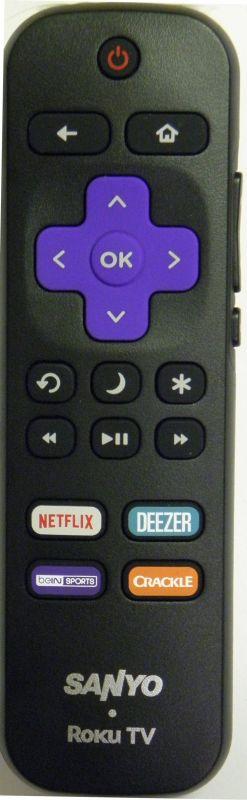 SANYO 101018E0029 ROKU TV REMOTE - RemoteControls com | Remote Controls
