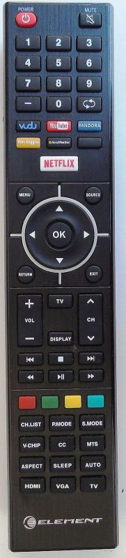 ELEMENT E2SW5018 Smart TV Remote Control E4SJ5018 - RemoteControls