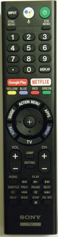 XBR55X850F XBR-49X900F XBR55X850F XBR49X900F XBR49X900F OEM Sony Remote Control Originally Shipped With: XBR49X900F